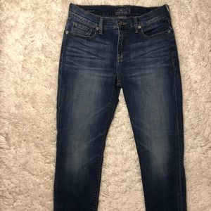 Lucky Brand Cropped Skinny Jeans